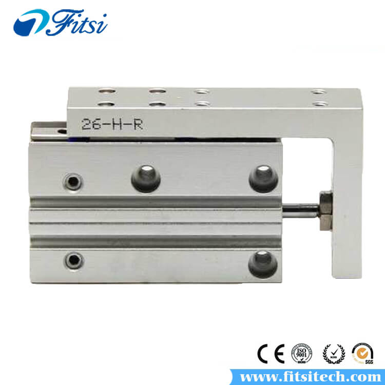 AirTAC HLH Series Pneumatic Air Cylinder HLH20X15S HLH20X20S HLH20X25S HLH20X30S Dual Action Slide Table Cylinder