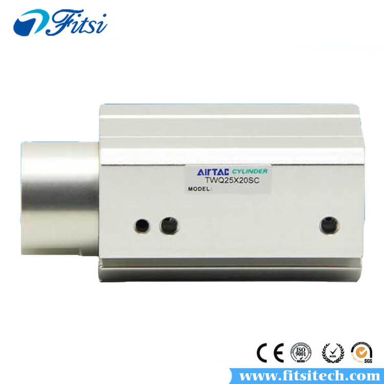 AirTAC TTQ Series Double Acting Pull Stopper Pneumatic Cylinder TTQ25X10 TTQ25X15 TTQ25X20 Stopper Cylinder