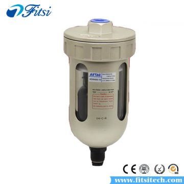 AirTAC ADW Series ADW400-10 ADW400-15 Aluminum Alloy Air Source Treatment Units Dripleg Drain