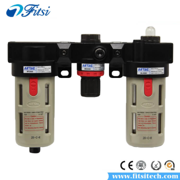 Pneumatic FRL Air Filter Regulator AC1500 AC2000 BC2000 BC3000 BC4000 Pressure Reducing Valve Atomized Lubricator