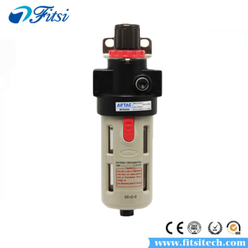 AirTAC AFR、BFR Series AFR1500 AFR2000 BFR2000 BFR3000 BFR4000 Pneumatic Twin Air Filter Air Compressor Source Treatment with Regulator Trap