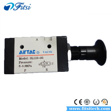 Original AirTAC Air Inlet Manual Hand Pull Valve 3L110-06 3L210-06 3L210-08 3L310-08 3L310-10